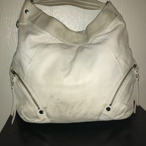 Andrew Marc Bags - Marc New York off white leather hobo